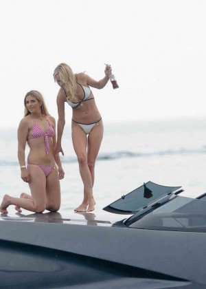 Kimberley Garner in White Bikini -12