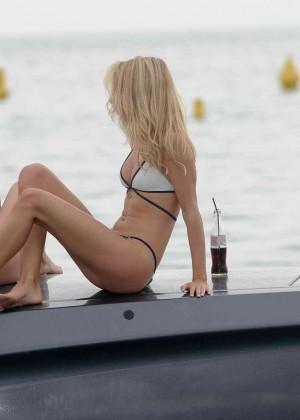 Kimberley Garner in White Bikini -27