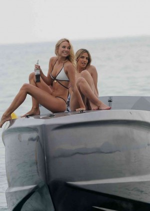 Kimberley Garner in White Bikini -37