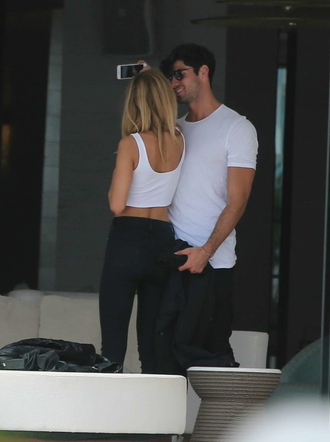 Kimberley Garner: In Bikini with mystery man-14