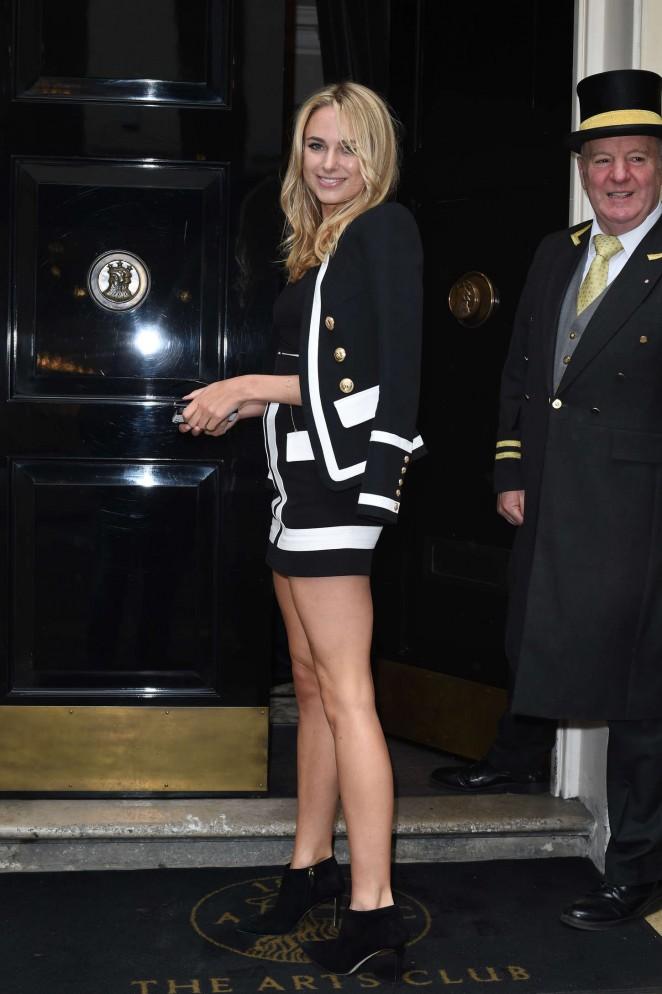 Kimberley Garner in Mini Dress -03
