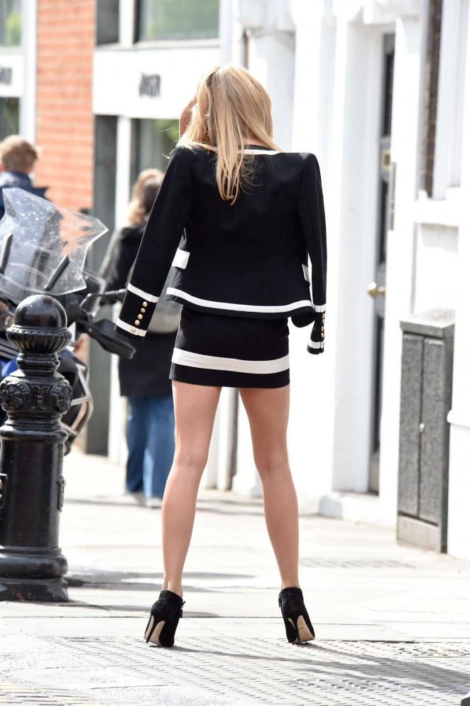 Kimberley Garner in Mini Dress -12