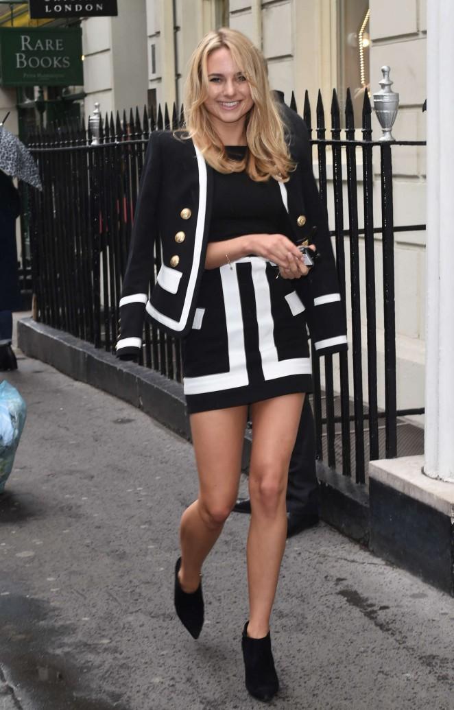 Kimberley Garner in Mini Dress -25