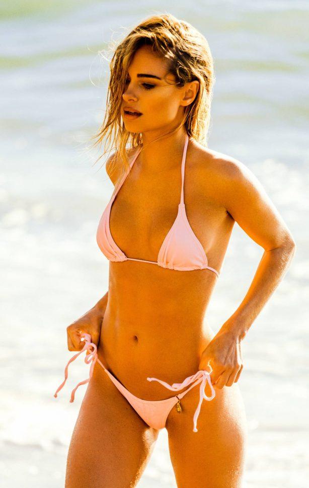 Kimberley Garner - In pink bikini photoshoot in St Tropez