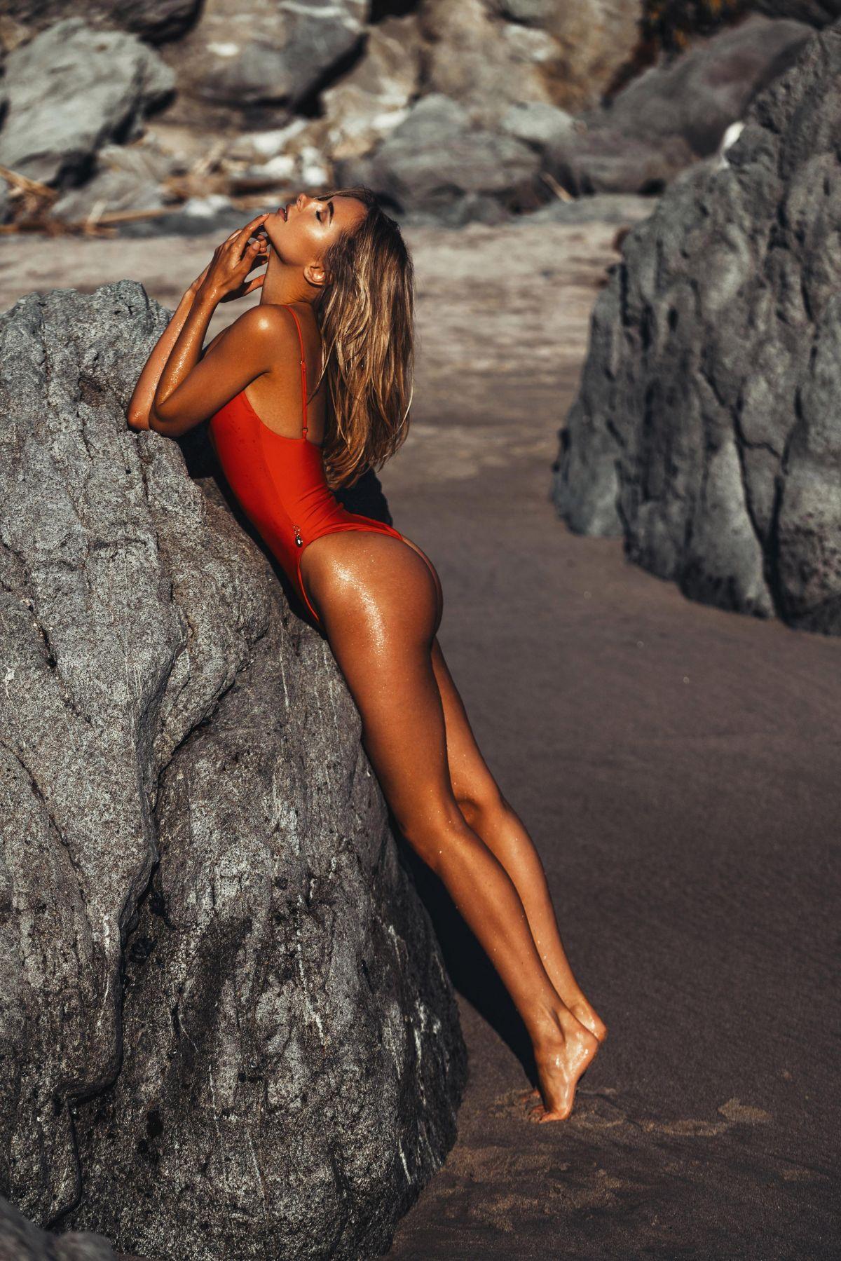 Top Nine Instagram Posts >> Kimberley Garner in Red Swimsuit Photoshoot in Ibiza | Indian Girls Villa - Celebs Beauty ...