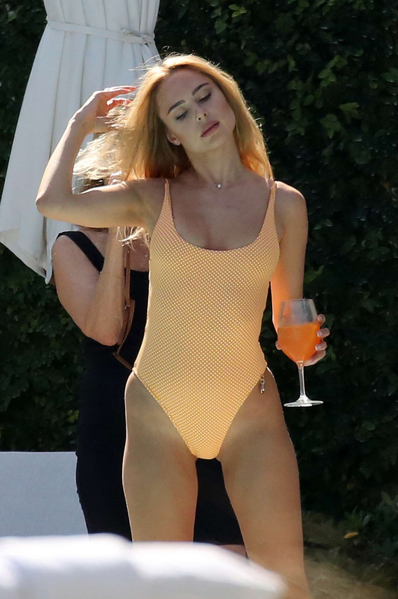 Kimberley Garner in Swimsuit on holiday in Miami