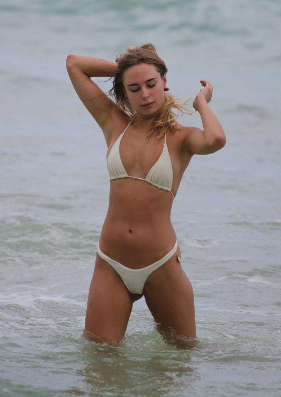 white bikini gardner Jennifer