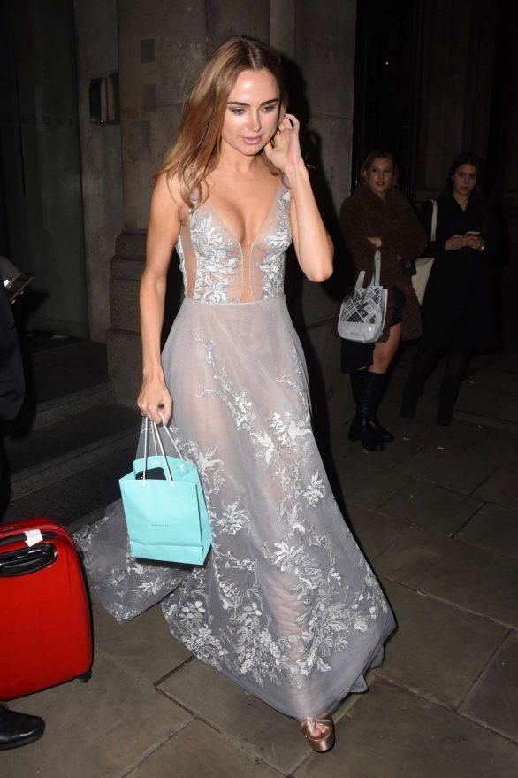 Kimberley Garner - Leaving Chain of Hope Gala Ball in London