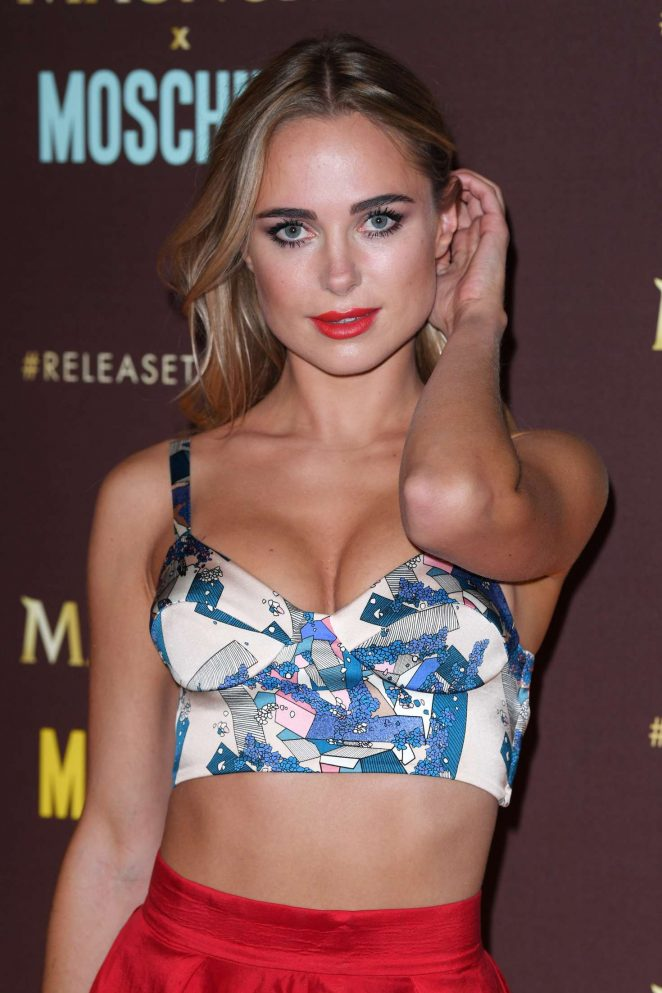 Kimberley Garner – Magnum x Moschino Party at 70th Cannes Film Festival