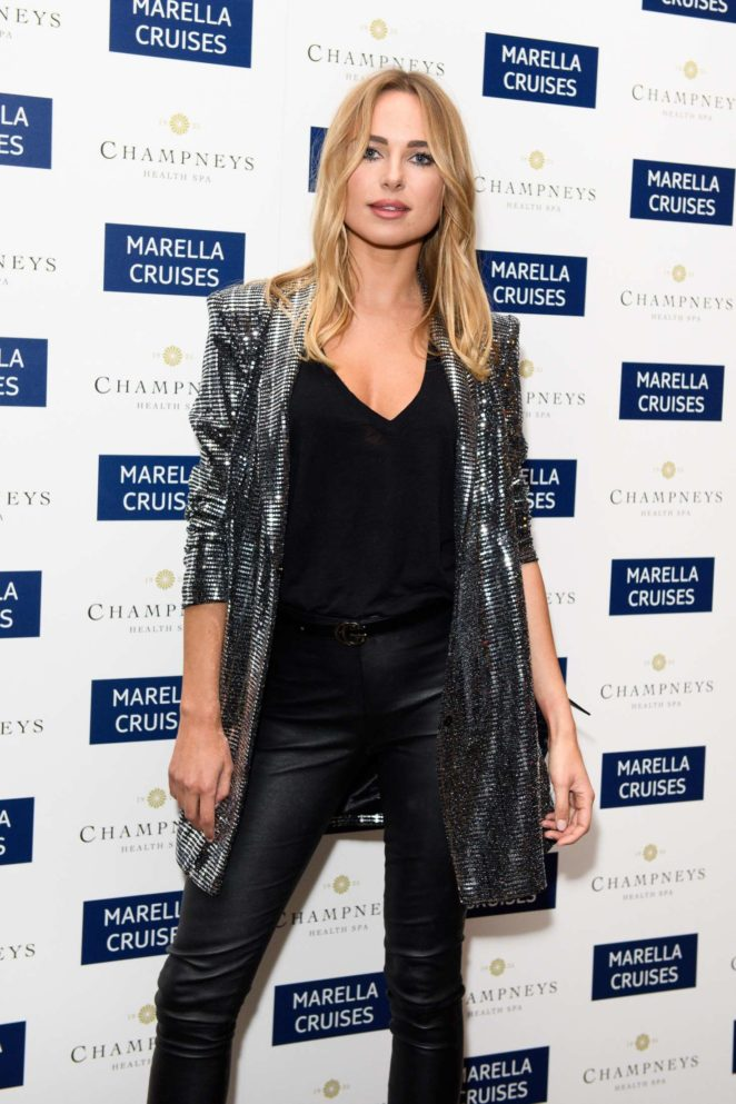 Kimberley Garner - Marella Cruises First Spa in London