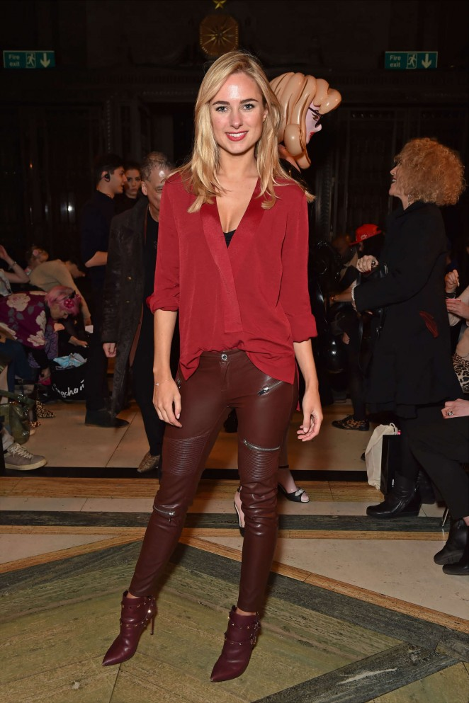 Kimberley Garner - Mimi Tran Catwalk Show 2015 in London