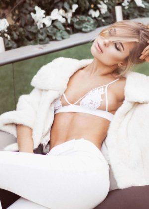 Kimberley Garner - Modelling Her Latest Fashion Photoshoot 2017