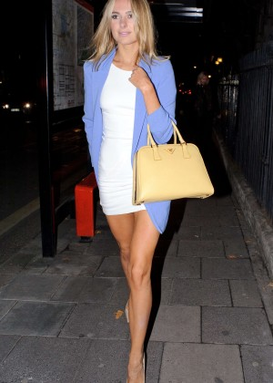 Kimberley Garner Night out in London