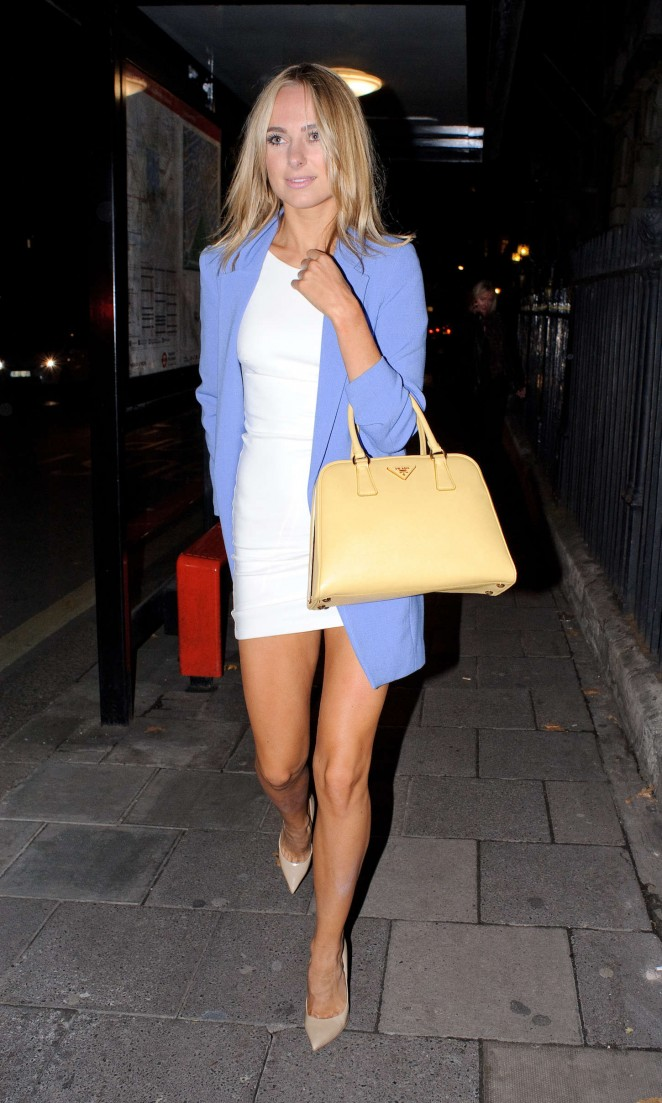Kimberley Garner Night out -04