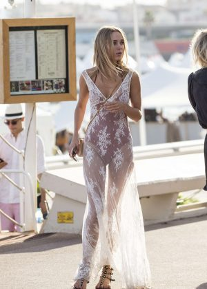 Kimberley Garner - Out and about in Cannes