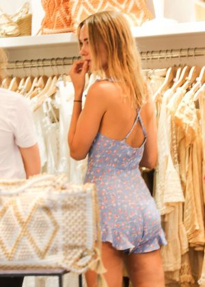 Kimberley Garner out shopping in St, Tropez