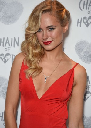 Kimberley Garner - The Chain Of Hope Annual Ball 2015 in London