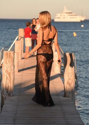 Kimberley Garner in Black Bikini -08