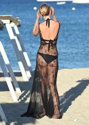 Kimberley Garner in Black Bikini -15