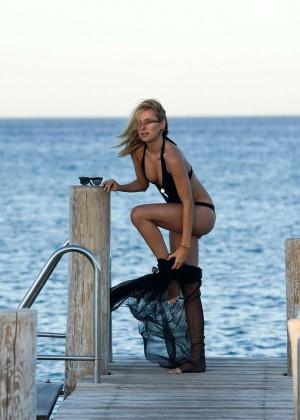 Kimberley Garner in Black Bikini -16
