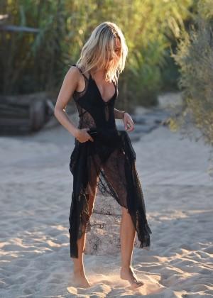 Kimberley Garner in Black Bikini -17