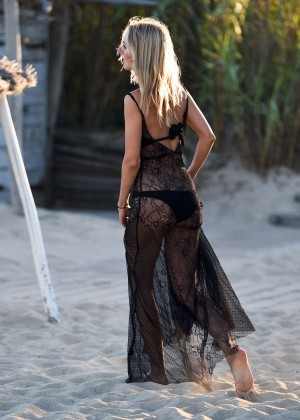 Kimberley Garner in Black Bikini -20