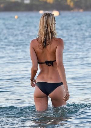 Kimberley Garner in Black Bikini -21