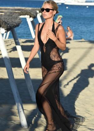 Kimberley Garner in Black Bikini -22