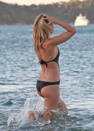 Kimberley Garner in Black Bikini -23