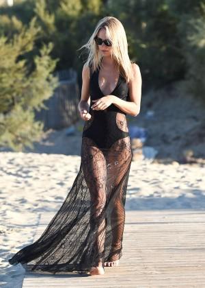 Kimberley Garner in Black Bikini -24