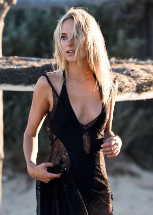 Kimberley Garner in Black Bikini -26