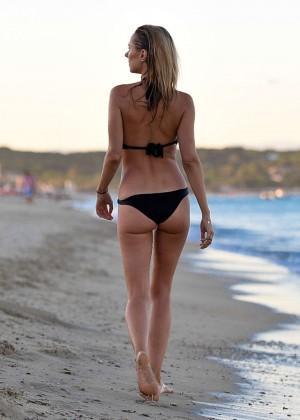 Kimberley Garner in Black Bikini -27