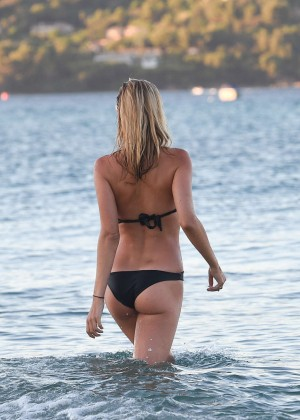 Kimberley Garner in Black Bikini -29