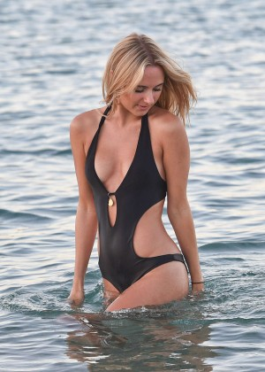 Kimberley Garner in Black Bikini -30
