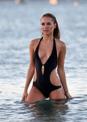 Kimberley Garner in Black Bikini -31