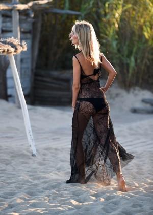 Kimberley Garner in Black Bikini -33