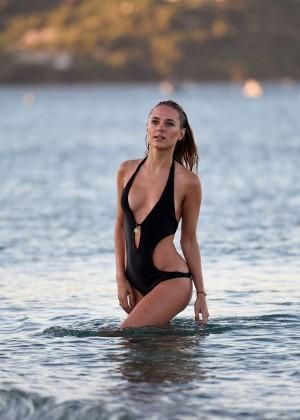 Kimberley Garner in Black Bikini -35
