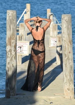 Kimberley Garner in Black Bikini -36