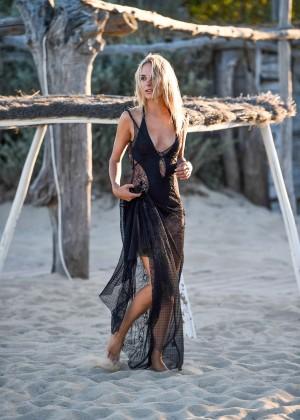 Kimberley Garner in Black Bikini -38