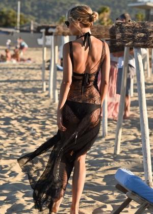 Kimberley Garner in Black Bikini -39