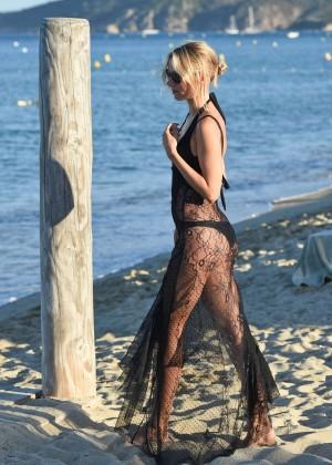 Kimberley Garner in Black Bikini -40
