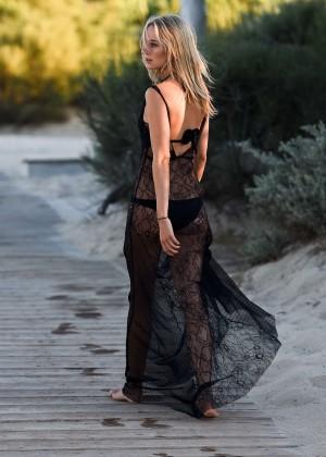 Kimberley Garner in Black Bikini -41