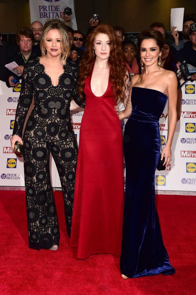 Kimberley Walsh: 2015 Pride of Britain Awards -02
