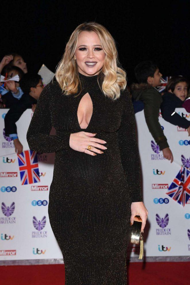 Kimberley Walsh - 2016  Pride of Britain Awards in London