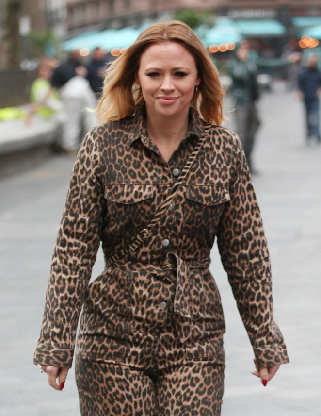 Kimberley Walsh – Global Radio in London