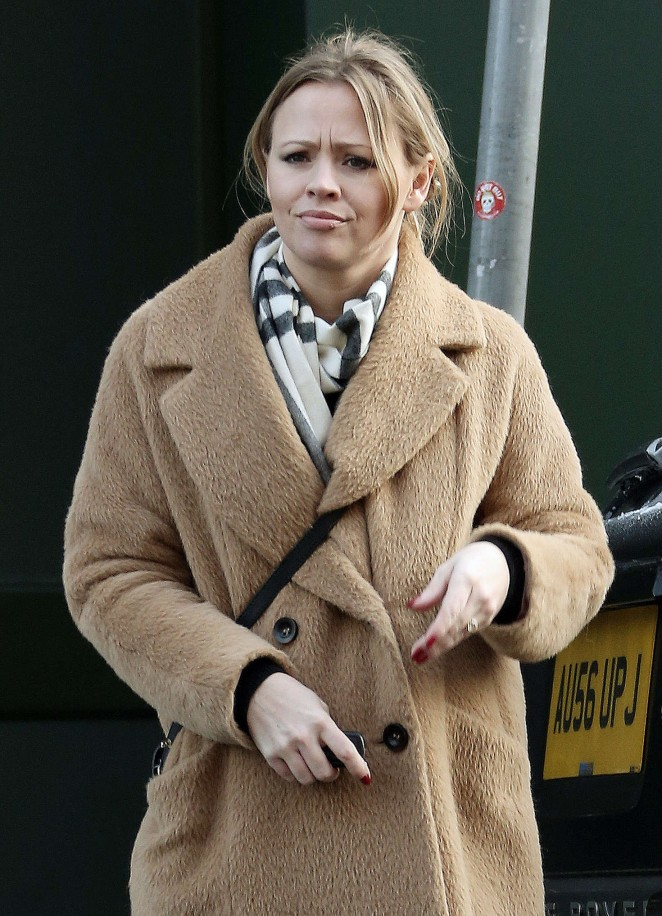 Kimberley Walsh out in Barnet