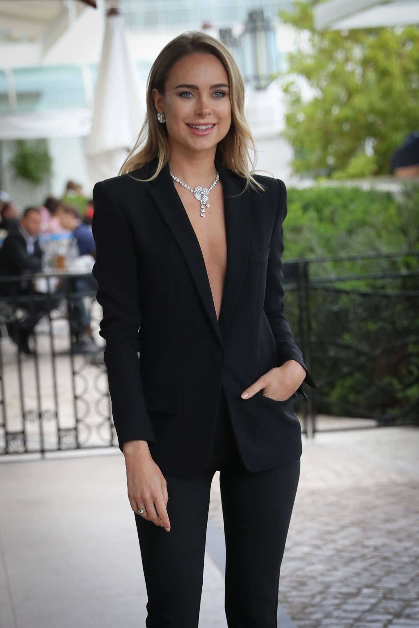 Kimberly Garner at Hotel Martinez in Cannes