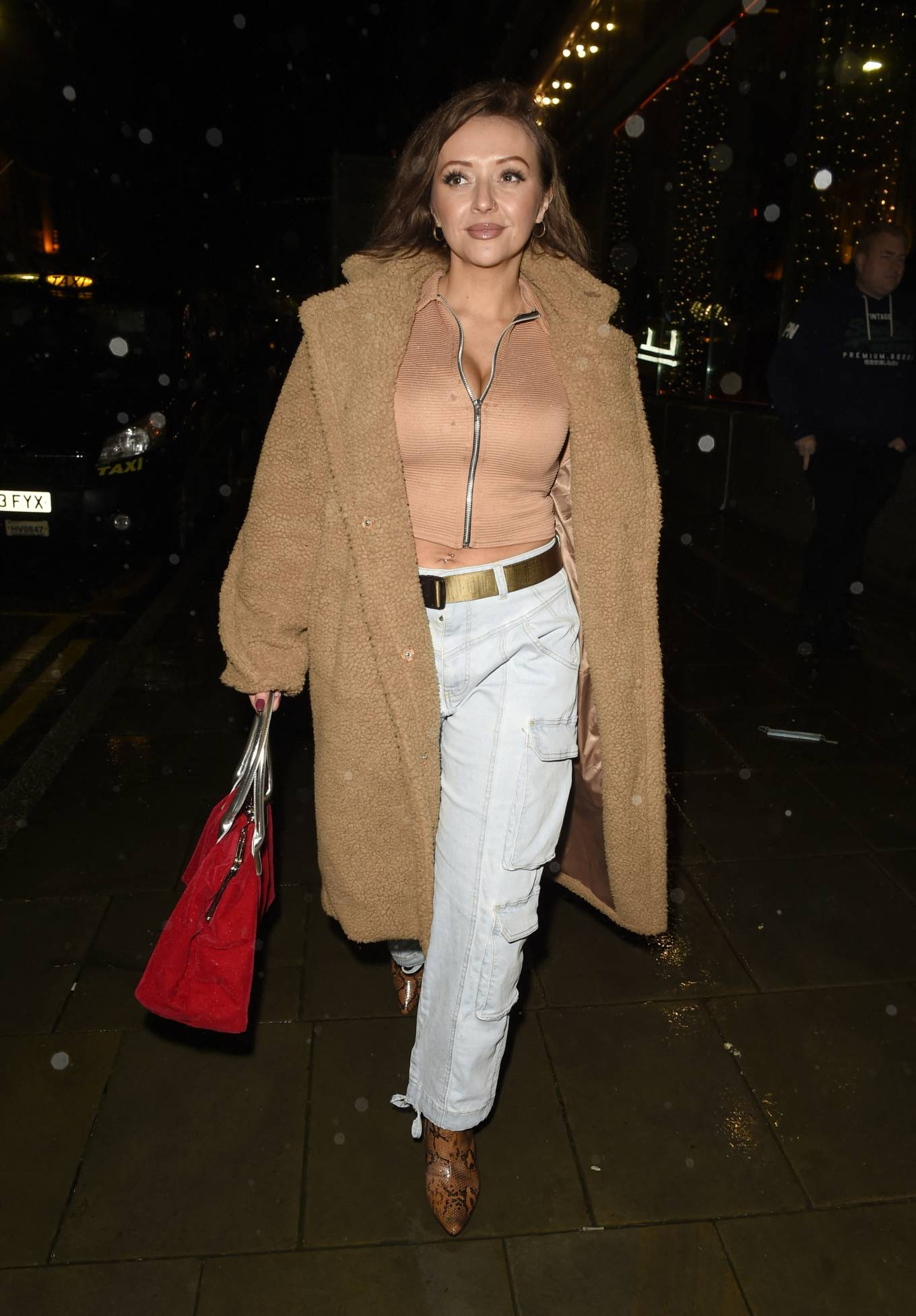 Kimberly Hart-Simpson - Night out in Manchester
