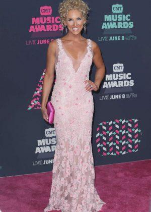 Kimberly Schlapman - CMT Music Awards 2016 in Nashville