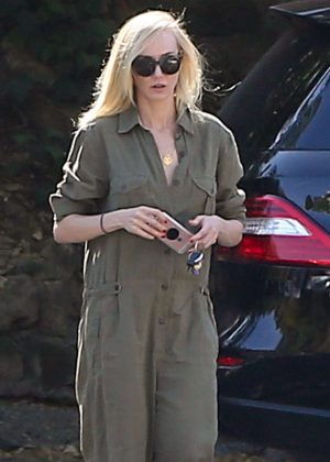 Kimberly Stewart out in Los Angeles